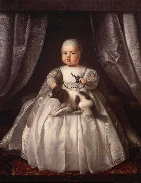 Charles II as a baby-compressed