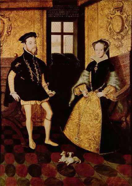 Felipe of Spain and Maria Tudor-compressed